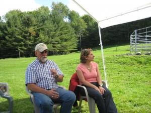 Mufasa & Jean DiMarco in Vermont